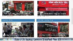 Trung tâm sửa chữa laptop Lenovo IdeaPad Flex 10 lỗi không nhận pin laptop