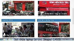 Bảo hành sửa chữa laptop Lenovo Ideapad G400S lỗi không lên gì