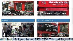 Trung tâm sửa chữa laptop Lenovo Z565, Z570, Thinkpad Edge 15 lỗi laptop đang chạy tắt ngang