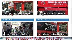 Dịch vụ sửa chữa laptop HP Pavilion G4-1112TU, G4-1117TX, G4-1120TU, G4-1209TX lỗi bị xé hình