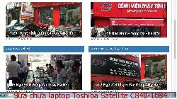 Dịch vụ sửa chữa laptop Toshiba Satellite C840-1034, C850, C850-1000U, C850-1003 lỗi bị sai màu